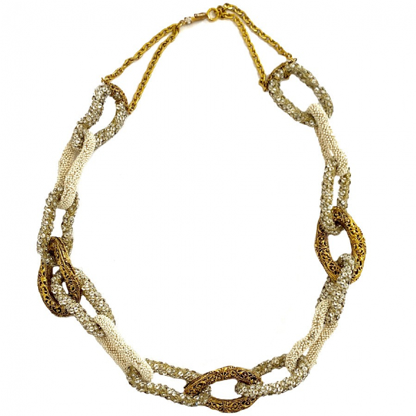 Chanel Gold Metal Necklace