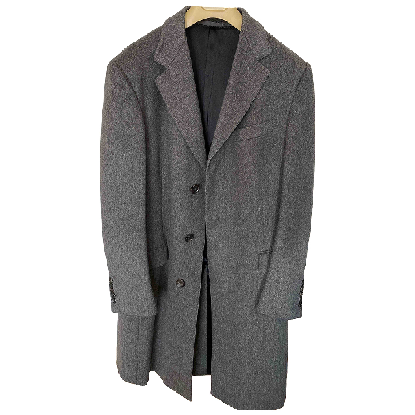 Gucci Grey Wool Coat