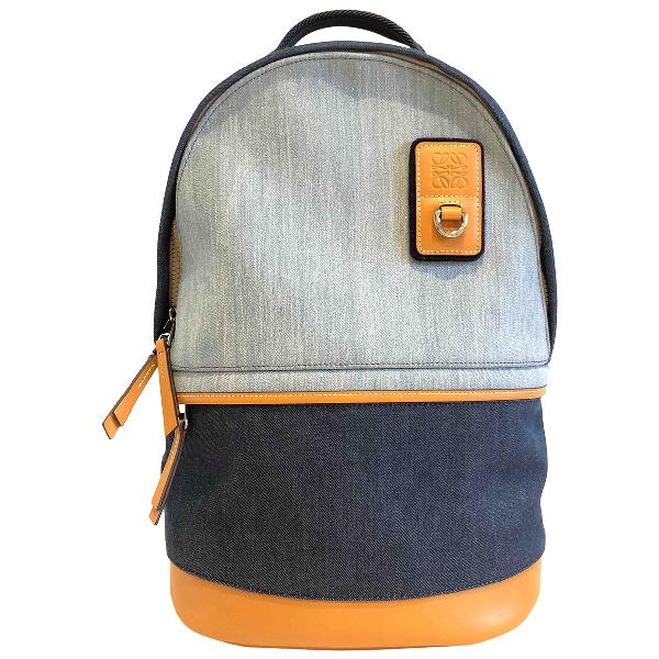 Loewe Blue Denim - Jeans Bag