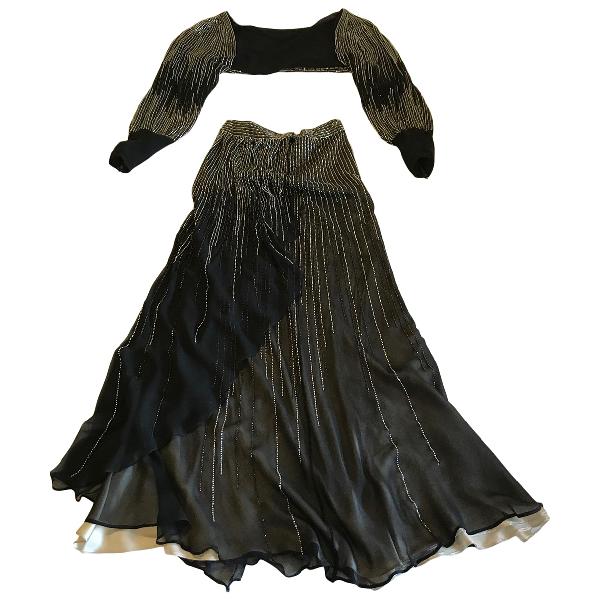 Amanda Wakeley Black Silk Dress