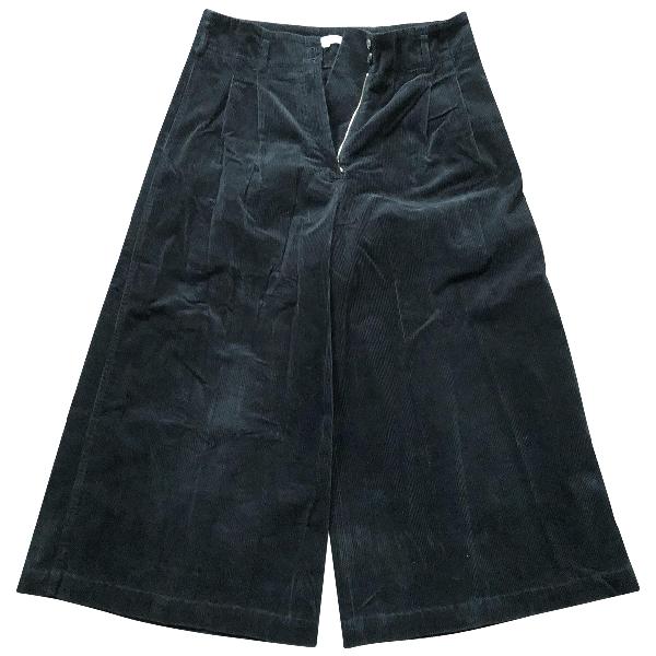 Vanessa Bruno Black Velvet Trousers