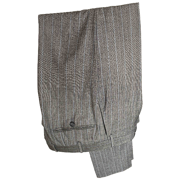 Corneliani Grey Wool Trousers