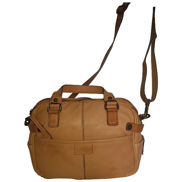 Levi's Camel Leather Handbag