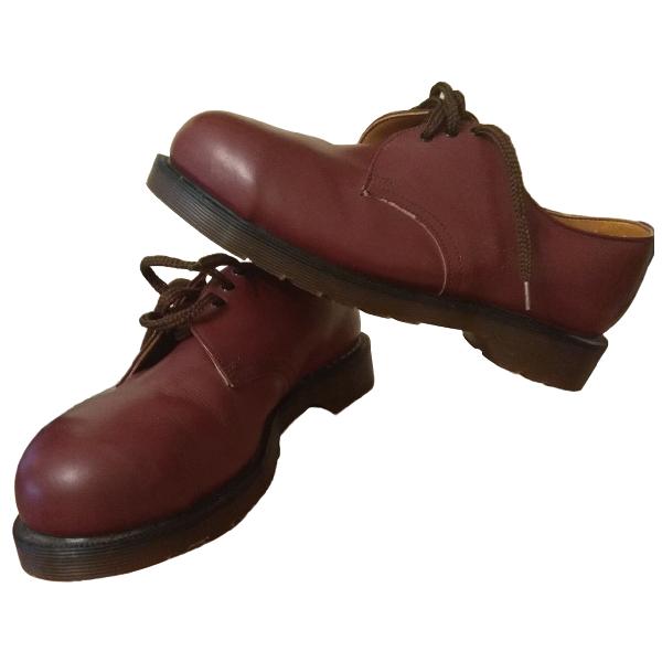 Dr. Martens Burgundy Leather Lace Ups