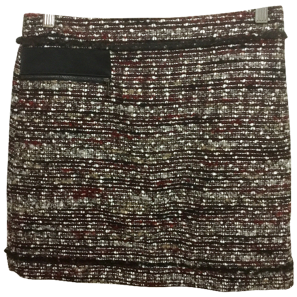 Karl Multicolour Tweed Skirt