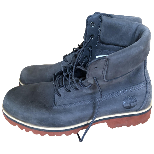 Timberland Grey Suede Boots