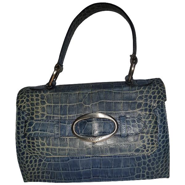 Tosca Blu Leather Handbag