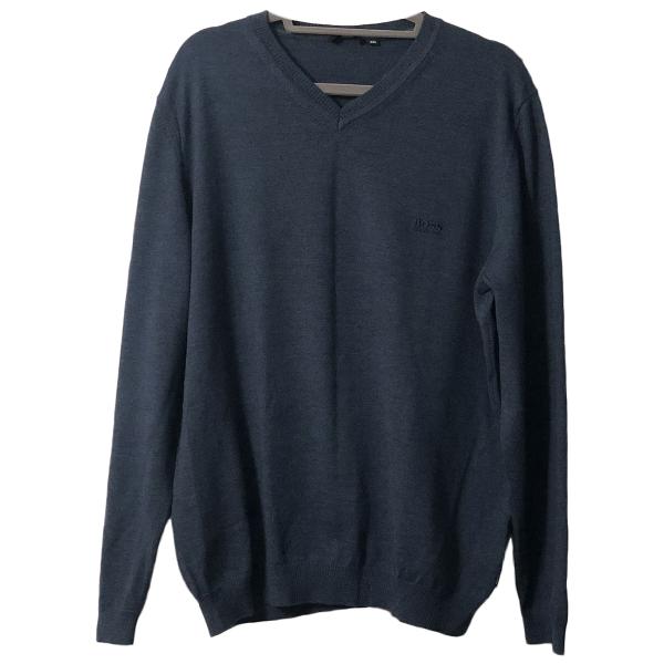 Hugo Boss Blue Knitwear & Sweatshirts