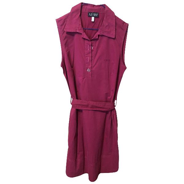 Armani Jeans Purple Cotton Dress