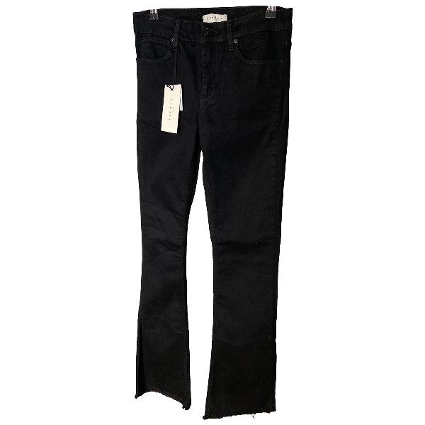 Sandro Black Cotton Jeans