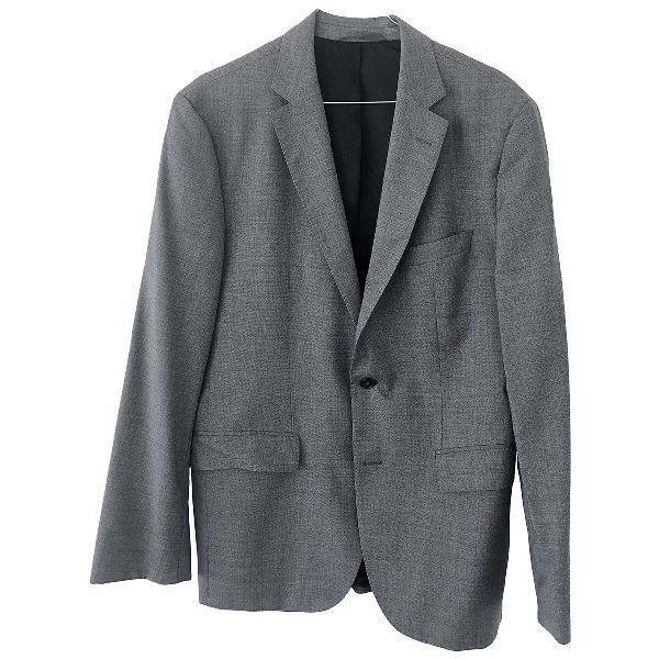 Hugo Boss Grey Wool Jacket