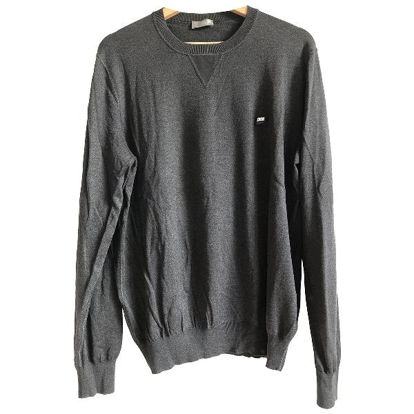 Dior Grey Silk Knitwear & Sweatshirts
