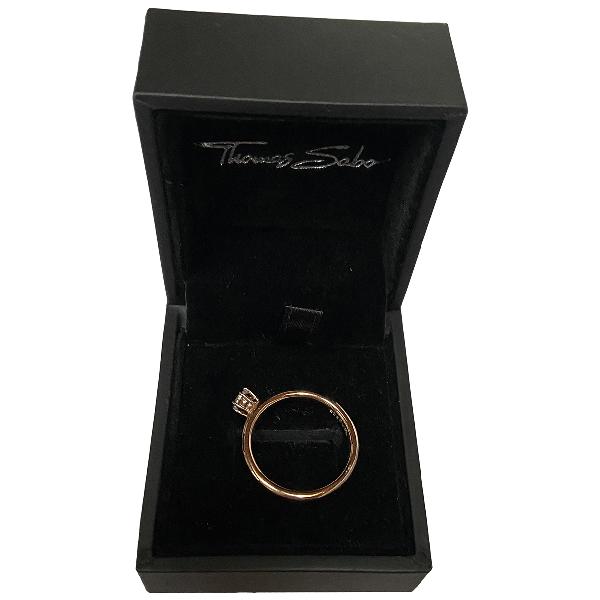 Thomas Sabo Pink Gold Plated Ring