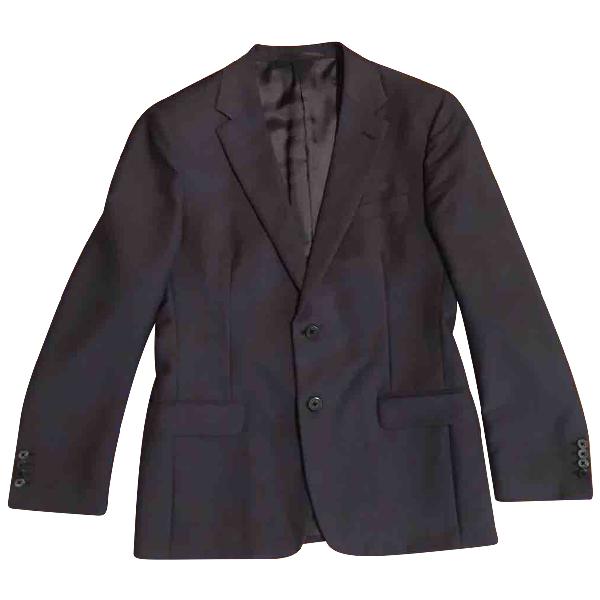Prada Purple Wool Suits