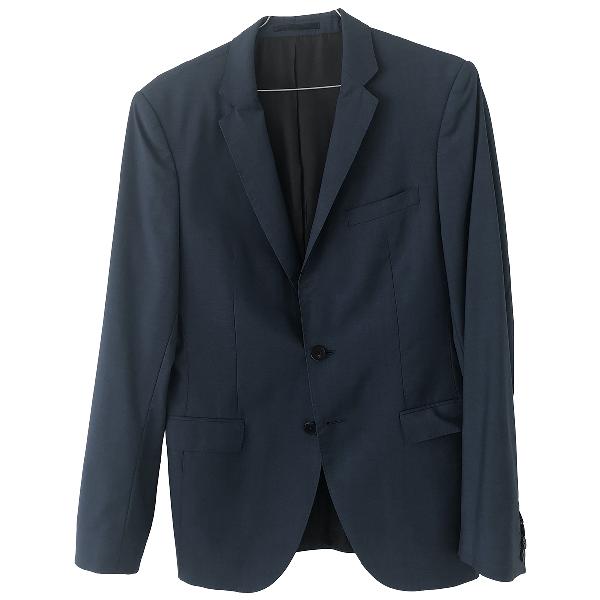 Hugo Boss Blue Wool Jacket
