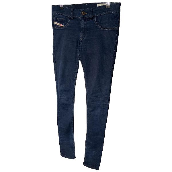 Diesel Blue Cotton Jeans