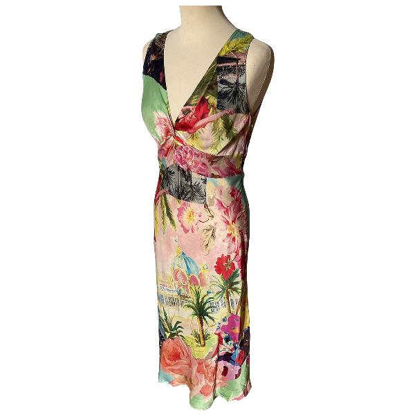 Gerard Darel Multicolour Silk Dress