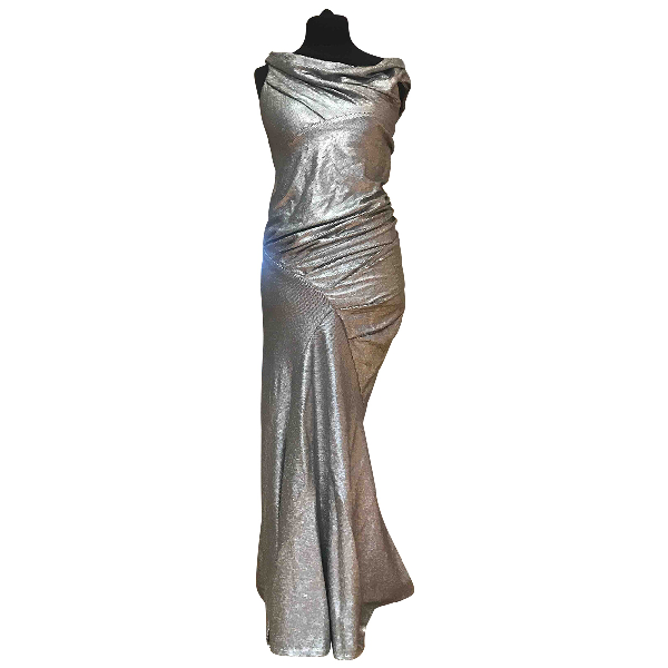 Donna Karan Grey Dress