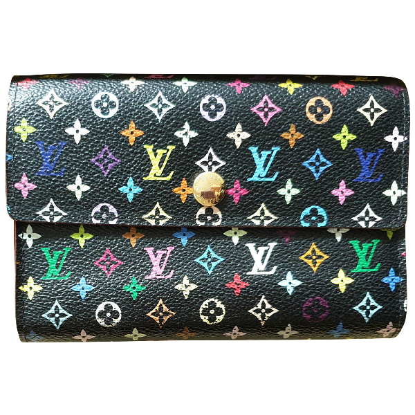 Louis Vuitton Virtuose Multicolour Cloth Wallet