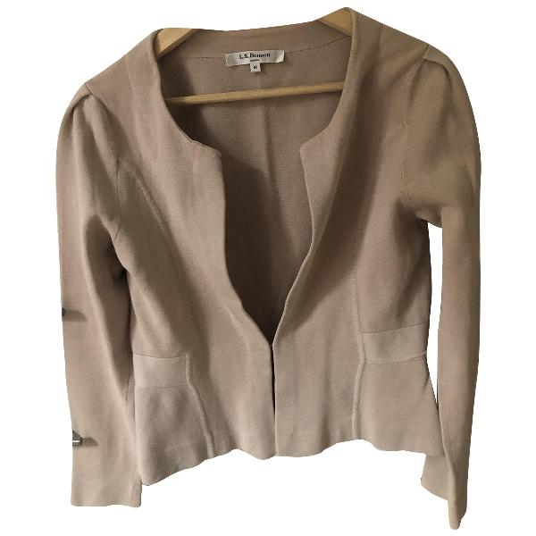 Lk Bennett Beige Cotton Jacket