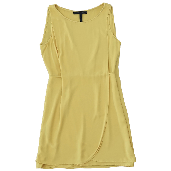 Bcbg Max Azria Yellow Dress