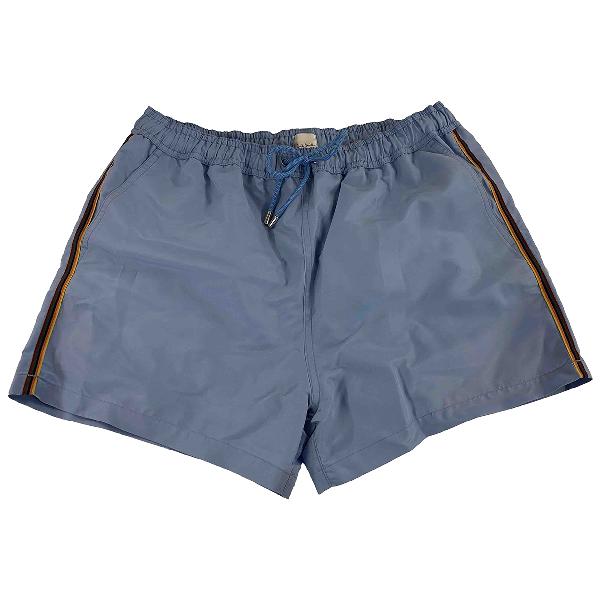 Paul Smith Blue Swimwear