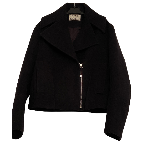 Acne Studios Black Wool Jacket