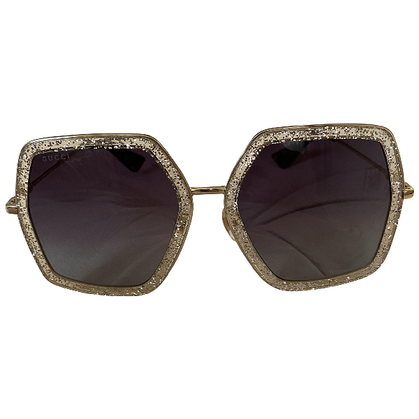 Gucci Gold Sunglasses