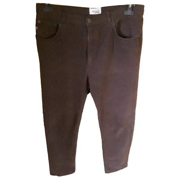Missoni Brown Cotton Trousers