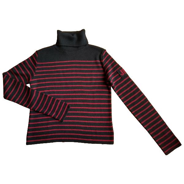 Jean Paul Gaultier Black Wool Knitwear