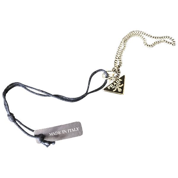 Prada Black Chain Bag Charms