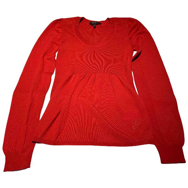 Gucci Red Wool Knitwear