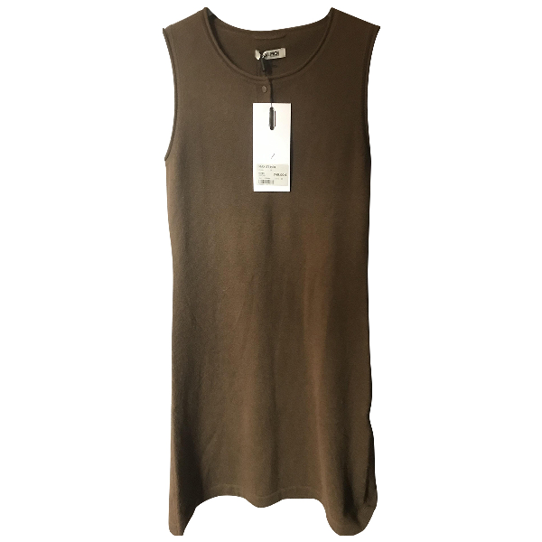Max & Moi Brown Cashmere Dress