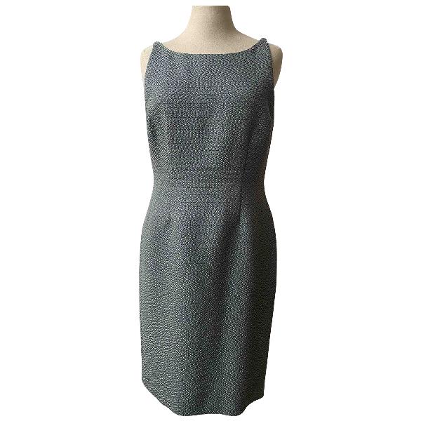 Fendi Blue Wool Dress