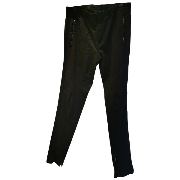 Miu Miu Black Wool Trousers