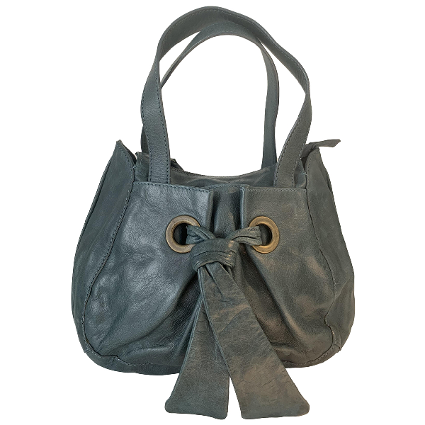 Coccinelle Green Leather Handbag