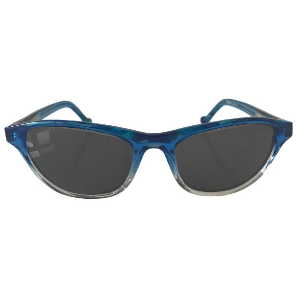 Romance Was Born Blue Sunglasses