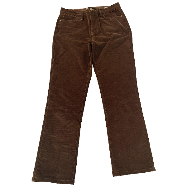 Frame Brown Cotton Jeans