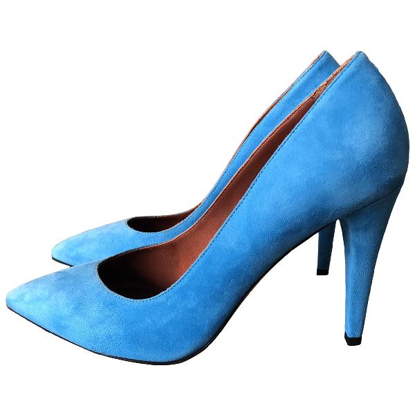 Missoni Turquoise Suede Heels