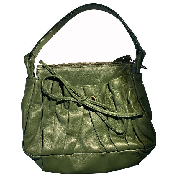 Coccinelle Green Leather Handbag