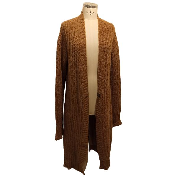 Semicouture Camel Wool Knitwear