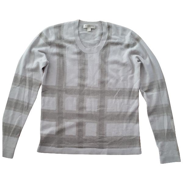 Burberry Beige Cashmere Knitwear