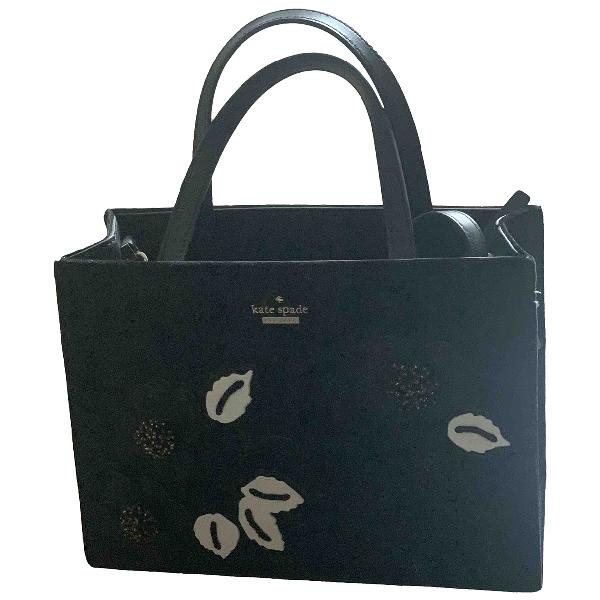 Kate Spade Black Suede Handbag