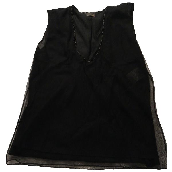 Fendi Black Cotton  Top