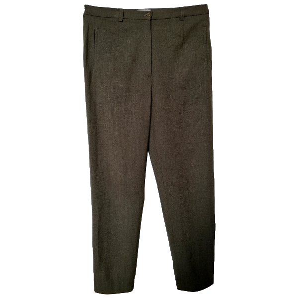 Gerard Darel Green Wool Trousers