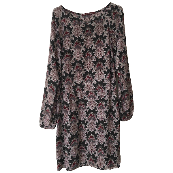 Comptoir Des Cotonniers Multicolour Silk Dress
