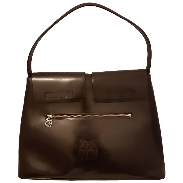 Jean Paul Gaultier Brown Leather Handbag