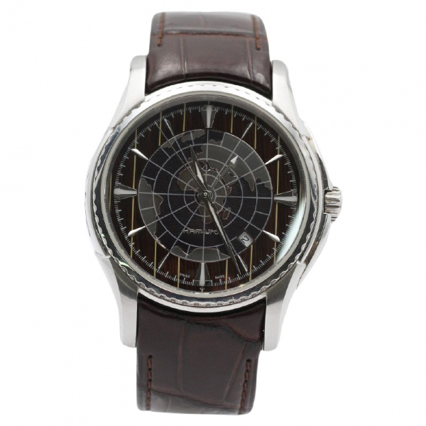 Hamilton Silver Steel Watch