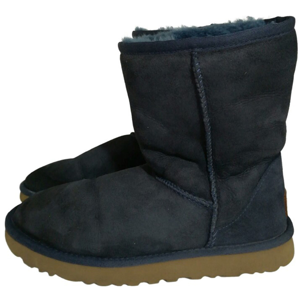 Ugg Blue Suede Boots