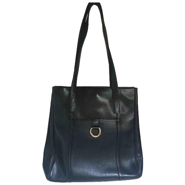 Lancel Black Leather Handbag